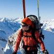 Winter mountaineering — Stock Photo #8964538