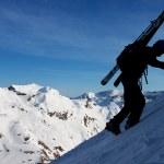 Winter climbing — Stock Photo #9657090
