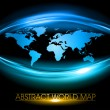 Vector de stock : Blue world