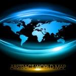 Blue world — Stock Vector