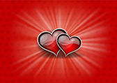 2 つの心 — ストックベクタ
