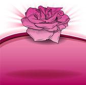 玫瑰玫瑰 — 图库矢量图片