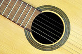 Acoustic guitar - resonant — Stock Photo