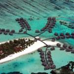 Maldives aerial — Stock Photo