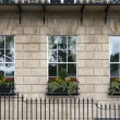 Georgian window triptych — Stock Photo