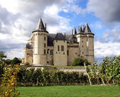 Saumur Chateau — Stock Photo