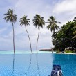 Royalty-Free Stock Photo: Infinity, Maldives