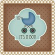 Baby arrival card - 