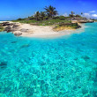 Caribbean island - Stock Photo