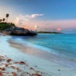 Amazing sunset at Caribbean Sea — Stock Photo #10483283