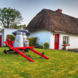 Traditional cottage house in Adare — Stock Photo #10484458