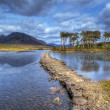connemara mountains and lake scenery — Stock Photo #10484917