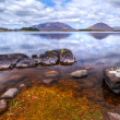connemara mountains and lake scenery — Stock Photo #10485145