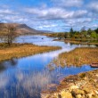 connemara mountains and lake scenery — Stock Photo #10485538