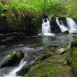 Stock Photo: Beautiful waterfall of Clare Glens