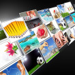 Royalty-Free Stock Photo: Streaming multimedia widescreen