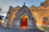 Holy Trinity Abbey church — Stock Photo