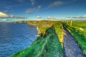Cliffs of Moher in Co. Clare — Stock Photo