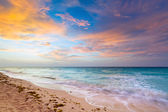 Idyllic beach of Caribbean Sea — Stock Photo