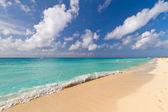 Idyllic beach of Caribbean Sea — Stock fotografie