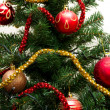 Beautiful Christmas tree decorations - Stockfoto