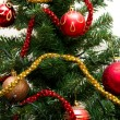 Beautiful Christmas tree decorations - Stock Photo