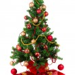 Beautiful Christmas tree — Stockfoto