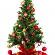 Beautiful Christmas tree — Stock Photo #8060092