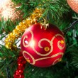 Christmas tree bauble — Stock Photo #8060436