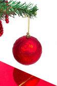 Strom vánoční cetka — Stock fotografie