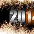 2012 celebration time — Stock Photo
