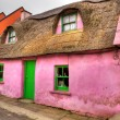 Pink cottage house in Doolin — Stock Photo #8307860