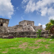 Pyramid El Castillo in Tulum — Stock Photo #8430780