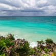 Stock Photo: Idyllic Caribbebeach