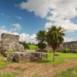 Stock Photo: Archaeological ruins of Tulum