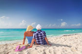 Together on perfect holidays — Stock Photo