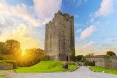 Dysert O'Dea Castle at sunset — Stok fotoğraf