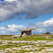 Stock Photo: Polnabrone Dolmen in Burren