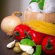 Cooking italian — Stock Photo #8591366