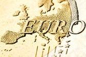 Euro zone map — Stock Photo