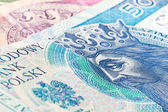 Fifty zloty banknote — Stock Photo