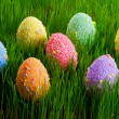 colorful easter eggs — Stock Photo #9382051
