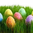 colorful easter eggs — Stock Photo #9382099
