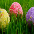 colorful easter eggs — Stock Photo #9382251
