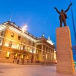 Jim Larkin monument in Dublin — Stock Photo #9382538