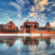 Stock Photo: Teutonic castle in Malbork