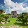 Archaeological ruins of Tulum — Stock Photo #9382723
