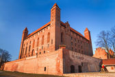 Teutonic castle in Gniew — Stock Photo