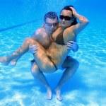Underwater fun — Stock Photo