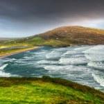 vlny na ječmen cove beach — Stock fotografie